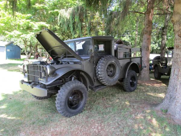Like New Condition, 1954 Dodge M37 4x4 Truck For Sale ...