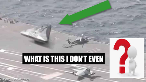 """Rocket"" on board a plane carrying warship .. Video incites debate"