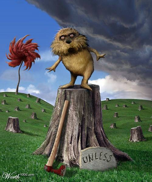 the lorax quotmisterquot he said with a sawdusty sneeze quoti