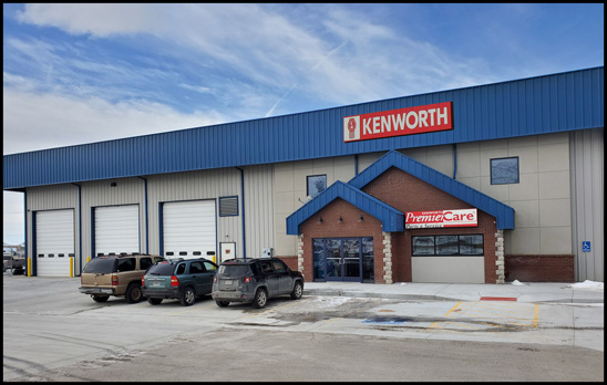 Kenworth Sales Co. Rock Springs, Wyoming New Facility