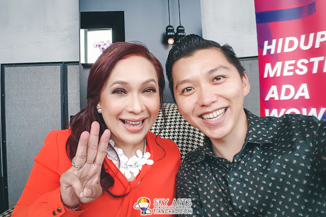 #TCSelfie with Maria Tunku Sabri (@mariajjcm) who I known from Jalan-Jalan Cari Makan Food Programme!