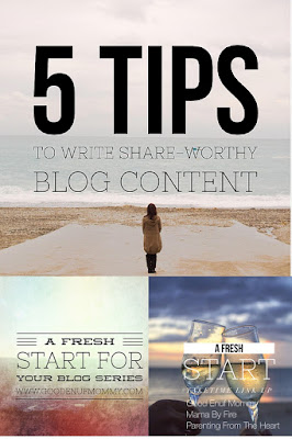 Have you ever wondered how to write blog content others want to share? These 5 tips will have you creating share-worthy blog content in no time!