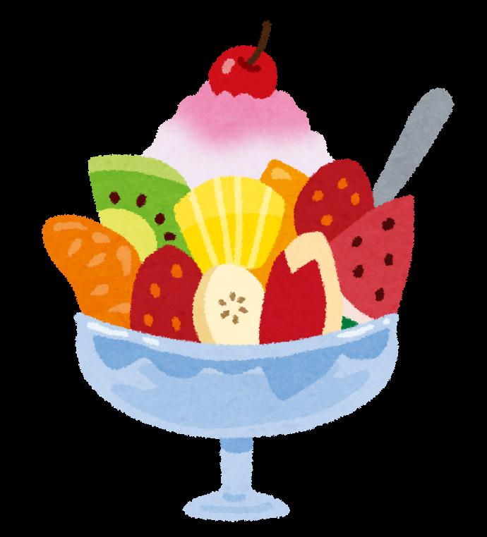 フルーツかき氷のイラスト かわいいフリー素材集 いらすとや