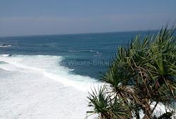 Pantai Tambakrejo Blitar Jawa Timur Destinasi Wisata Pantai