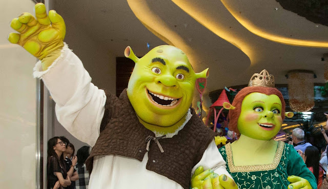 DreamWorks Shrek and Princess Fiona