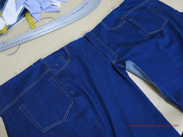 como coser unos jeans paso a paso