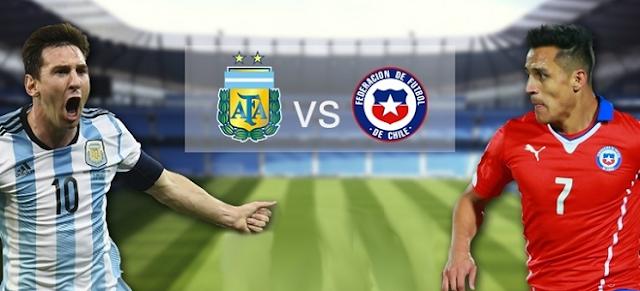 Argentina vs Chile Full Match 24 March 2017  full match