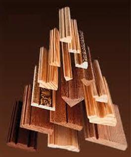 Dormitorio muebles modernos molduras de madera leroy merlin for Molduras de madera