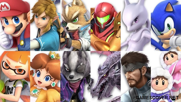 Super Smash Bros. Ultimate Fighters