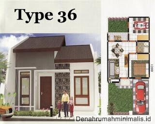 Desain Interior Rumah Minimalis Tipe 36 8