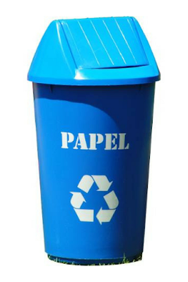 Puedes encontrar los contenedores de reciclaje en cualquier lugar