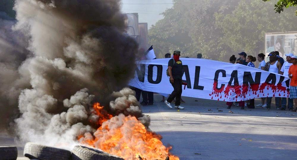 Derecha nicaraguense pretende  torpedear la construcción del canal