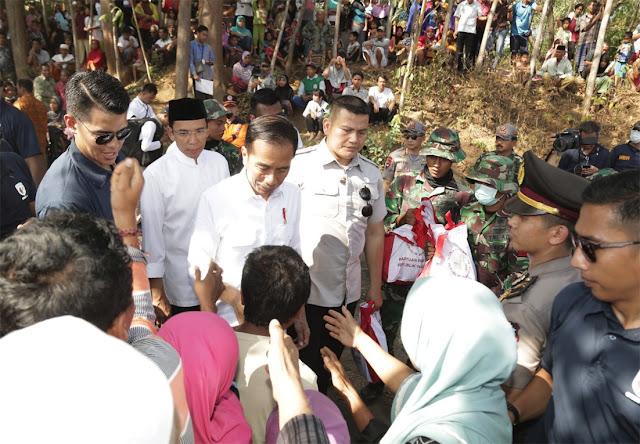 Pengungsi Sayangkan Bencana Gempa Lombok Dibilang Gara-gara TGB dan Jokowi