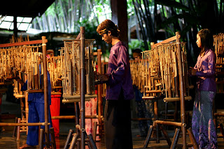 Angklung Wisata, Angklung Bandung, Angklung nada