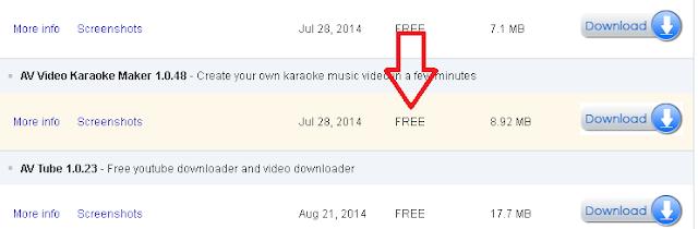 Cara Mudah Membuat Lirik Video Karaoke Sendiri menggunakan AV Video Karaoke Maker