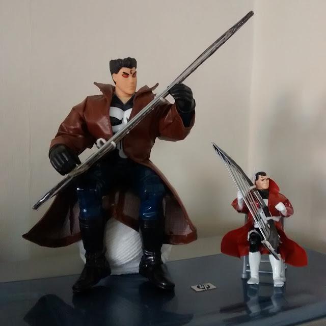 Two Punisher variants enjoying a Warharp Duet