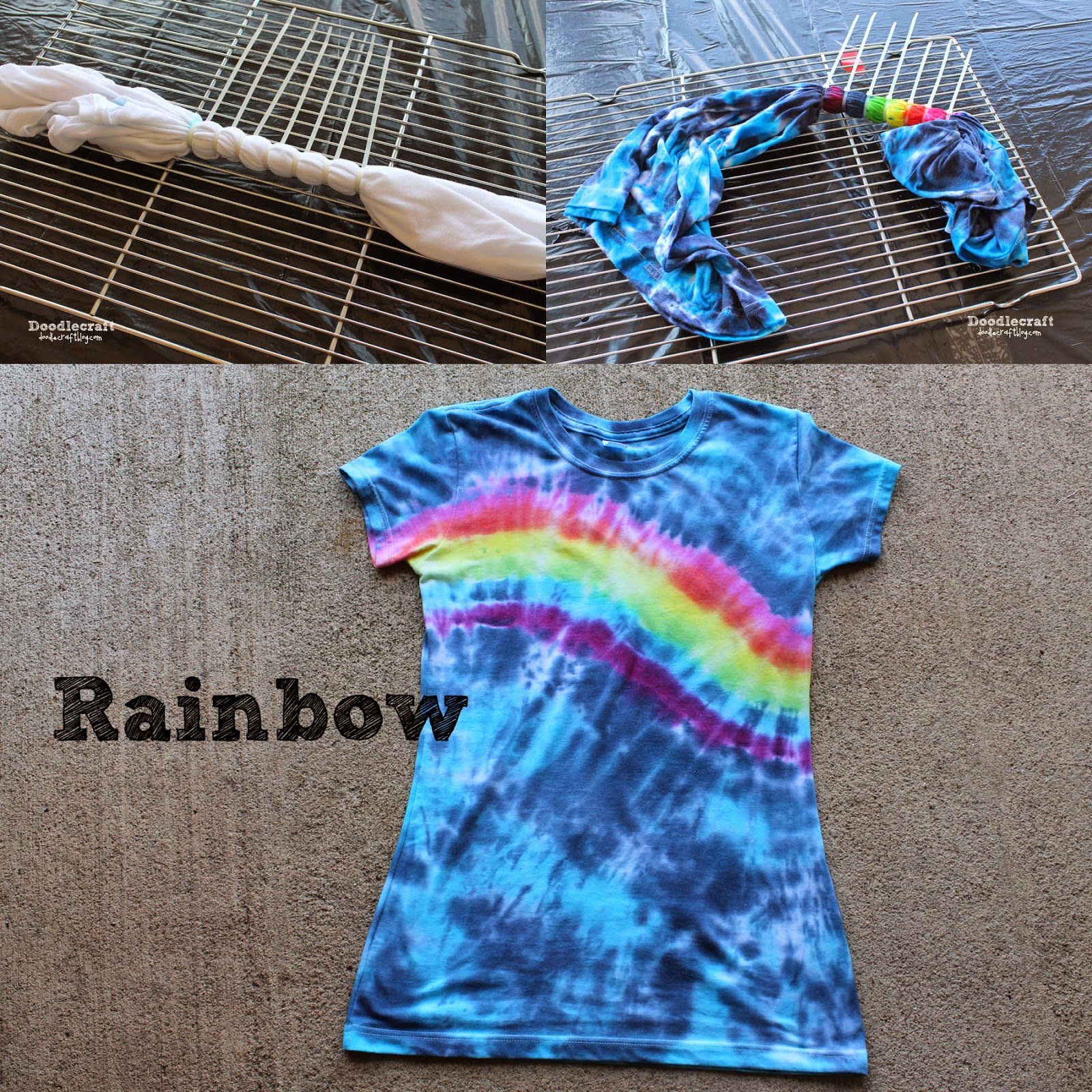 Doodlecraft tulip tie dye t shirt party for Making a tie dye shirt