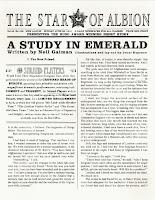 Neil Gaiman Sherlock Holmes pastiche A Study in Emerald
