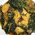 Tasty Nigerian Efo Riro With Fresh Fish