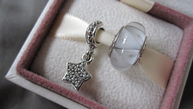 837d33cb7 pandora jewellery fall collection 2012 Star Sterling Silver dangle with 11  Pave set Cubic Zirconia Abstract