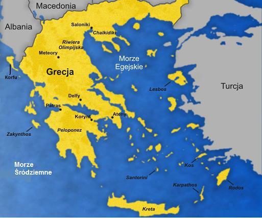Ciekawe Miejsca Swiata Grecja