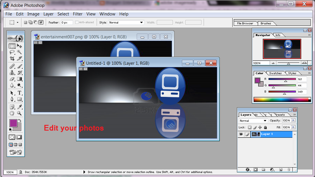 How To Make Animated GIF Image With Adobe Photoshop