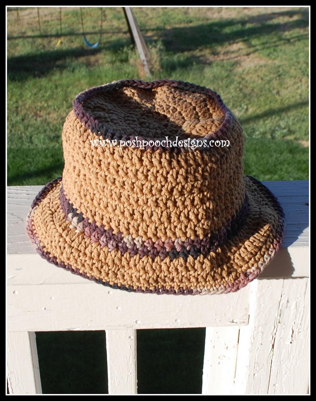 Posh Pooch Designs Dog Clothes: Opa\'s Hat - Men\'s Summer Bucket Hat