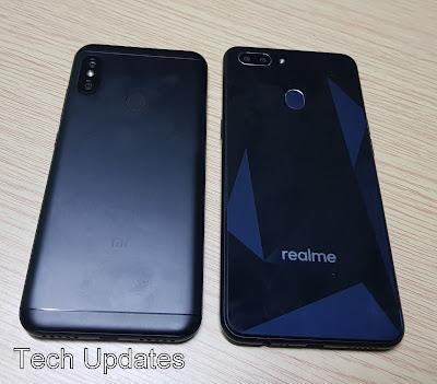 Xiaomi Redmi 6 Pro vs Realme 2