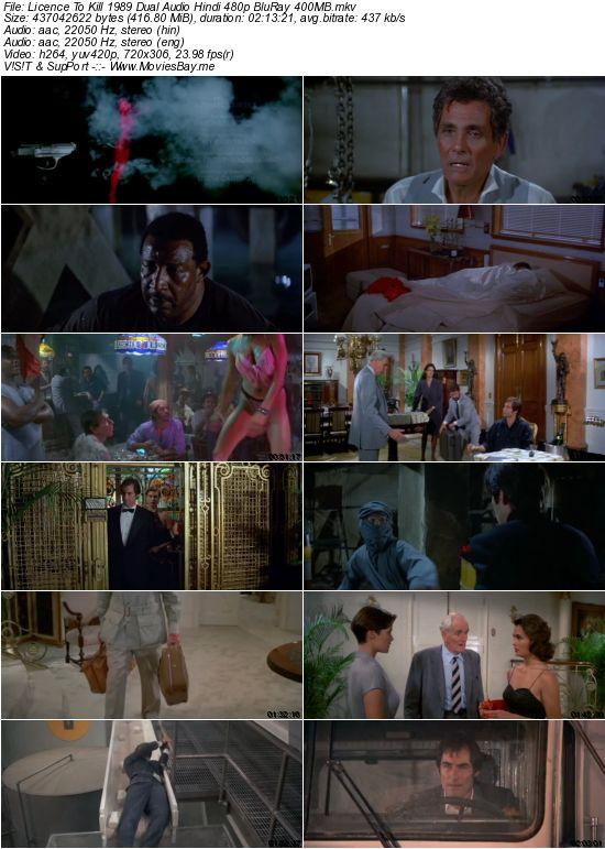 Licence To Kill 1989 Dual Audio Hindi 480p BluRay 400MB worldfree4u