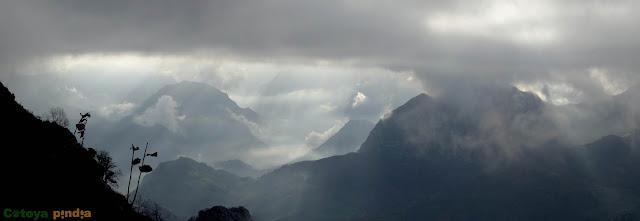 Ruta al pico Mota Cetín desde el Collado de Moande (Techo del Concejo de Parres)