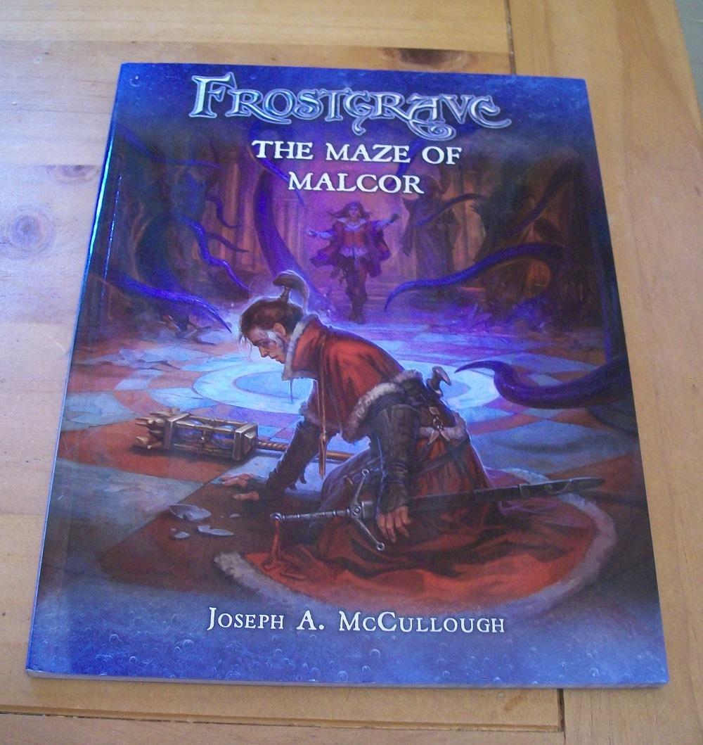 The Renaissance Troll: Frostgrave: The Maze of Malcor