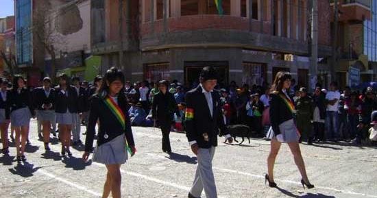 Colegiales en Bolivia