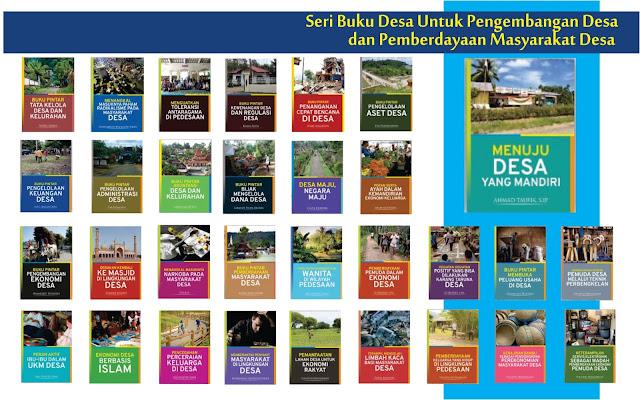 Buku-buku Pengembangan dan Pemberdayaan Masyarakat Desa