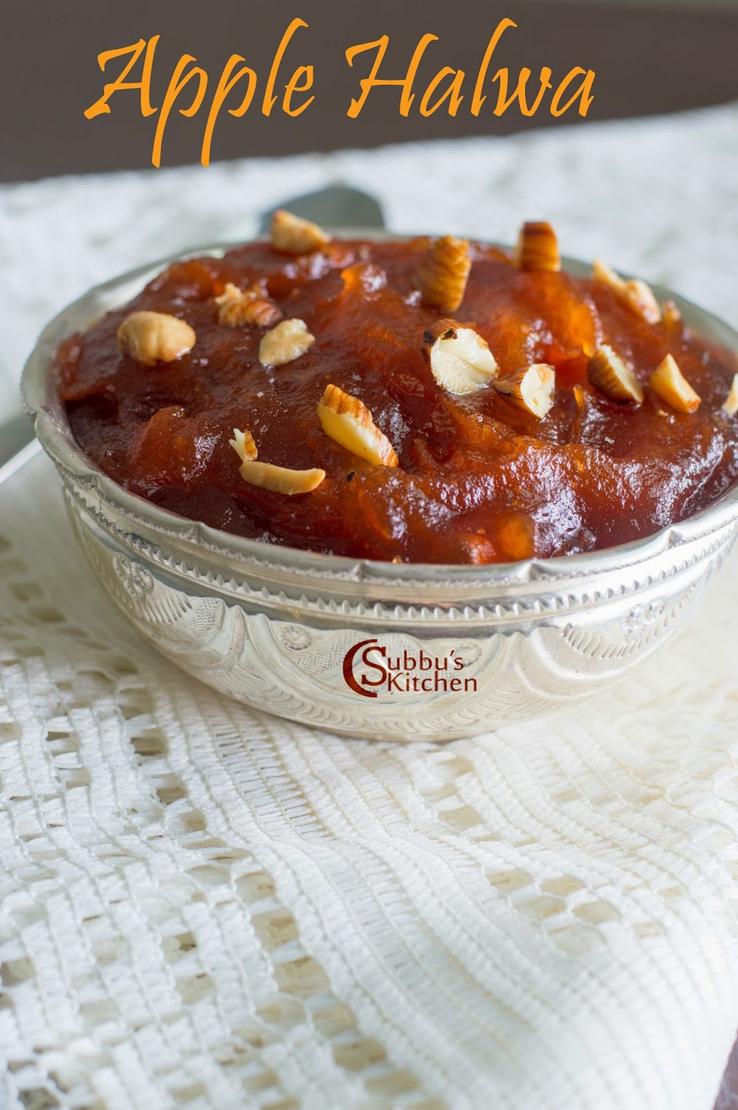 Apple Halwa Recipe | How to make Apple Halwa | Subbus Kitchen