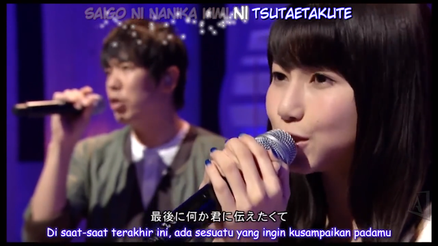 [LIVE] Amamiya Sora & Kirisahato ft. Sukima Switch - Kanade + Efek Kara_sy-subkara.blogspot.com