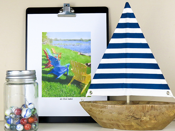 Colorful Summer print for framing.