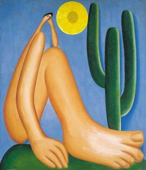 Abaporu, pintura de Tarsila do Amaral.