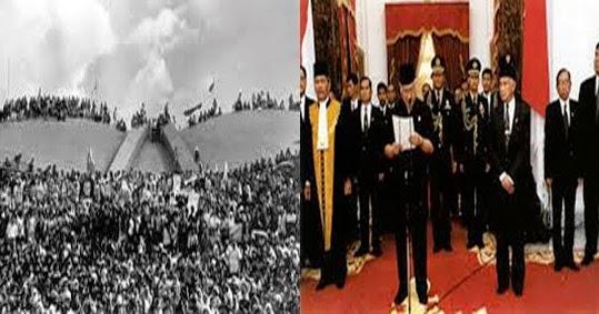 Pengunduran Diri Presiden Soeharto 21 Mei 1998 Tragedi