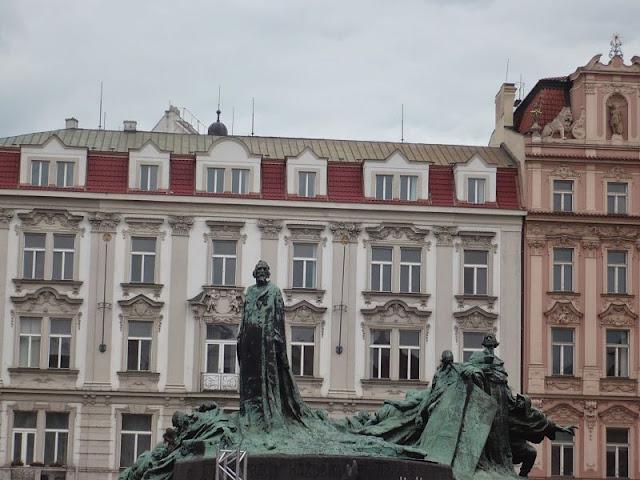 centro storico di Praga. Piazza vecchia