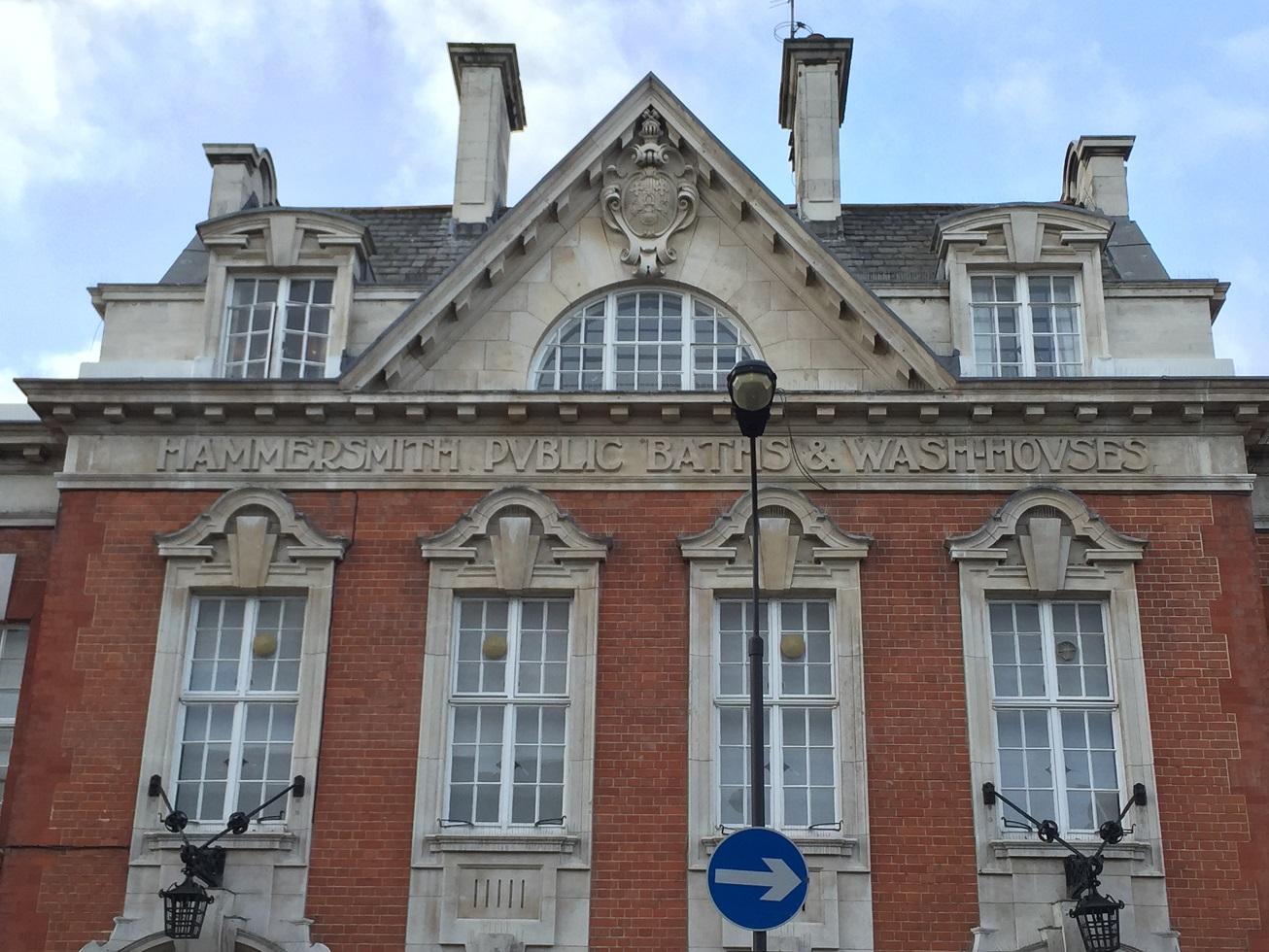 Hammersmith Public Baths & Wash Houses, Lime Grove, London
