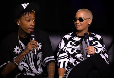 wiz amber angie Wiz Khalifa And Amber Rose Talk Marriage, Miley Cyrus, & Weed With Angie Martinez