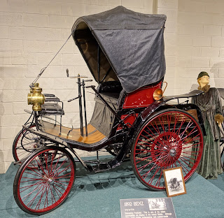 First car By karl benz