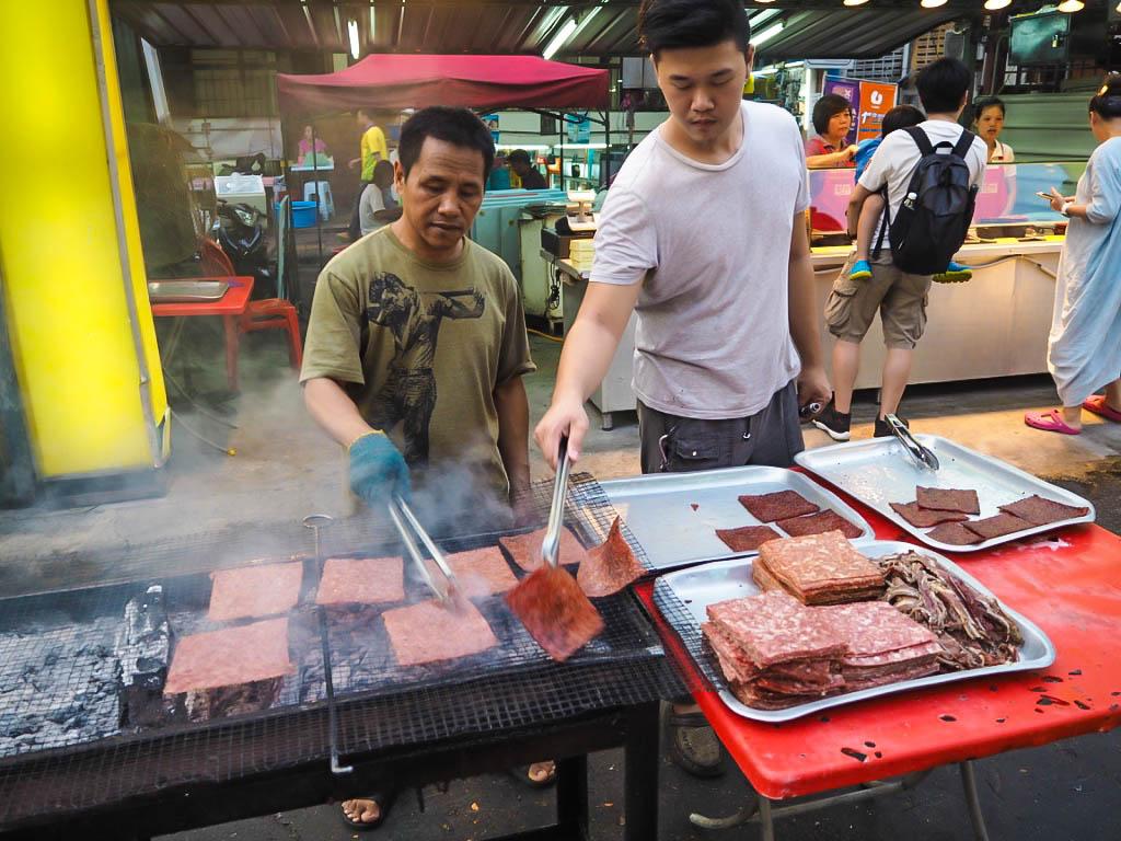 jalan alor street food market kuala lumpur