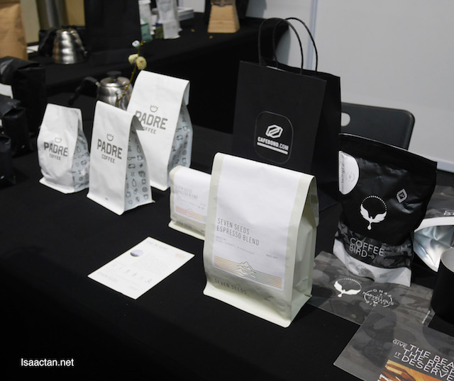 Various coffee beans available from Cafebond.com