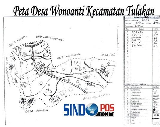 Profil Desa & Kelurahan, Desa Wonoanti Kecamatan Tulakan Kabupaten Pacitan
