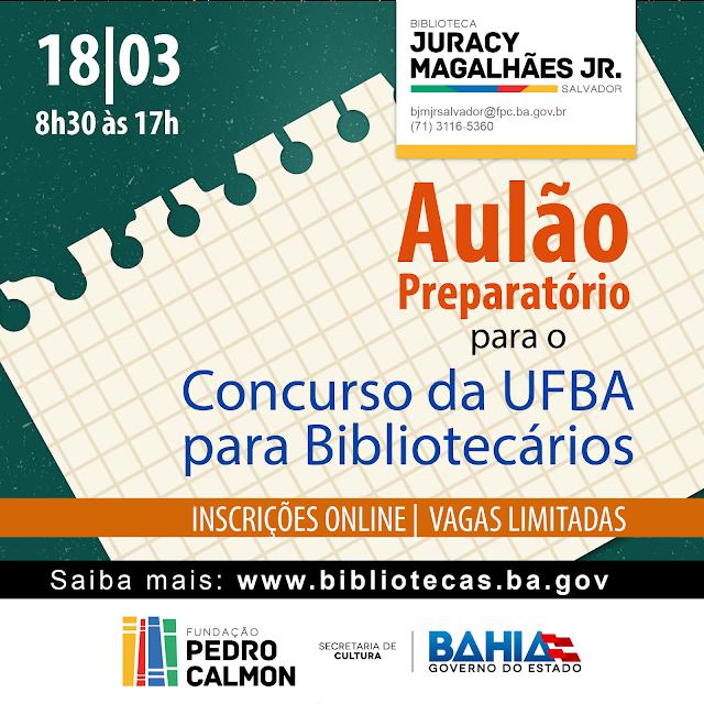 Concurso da UFBA  para Bibliotecários