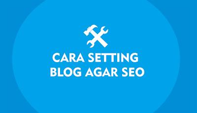 Cara Setting Menu Blog Agar Lebih SEO 2017