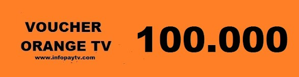 Voucher Orange TV 100 Ribu