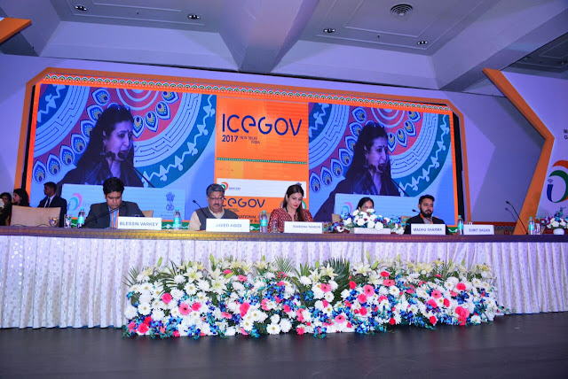 Ms Raveena Tandon speaking on Women Empowerment & Disability at ICEGOV 2017
