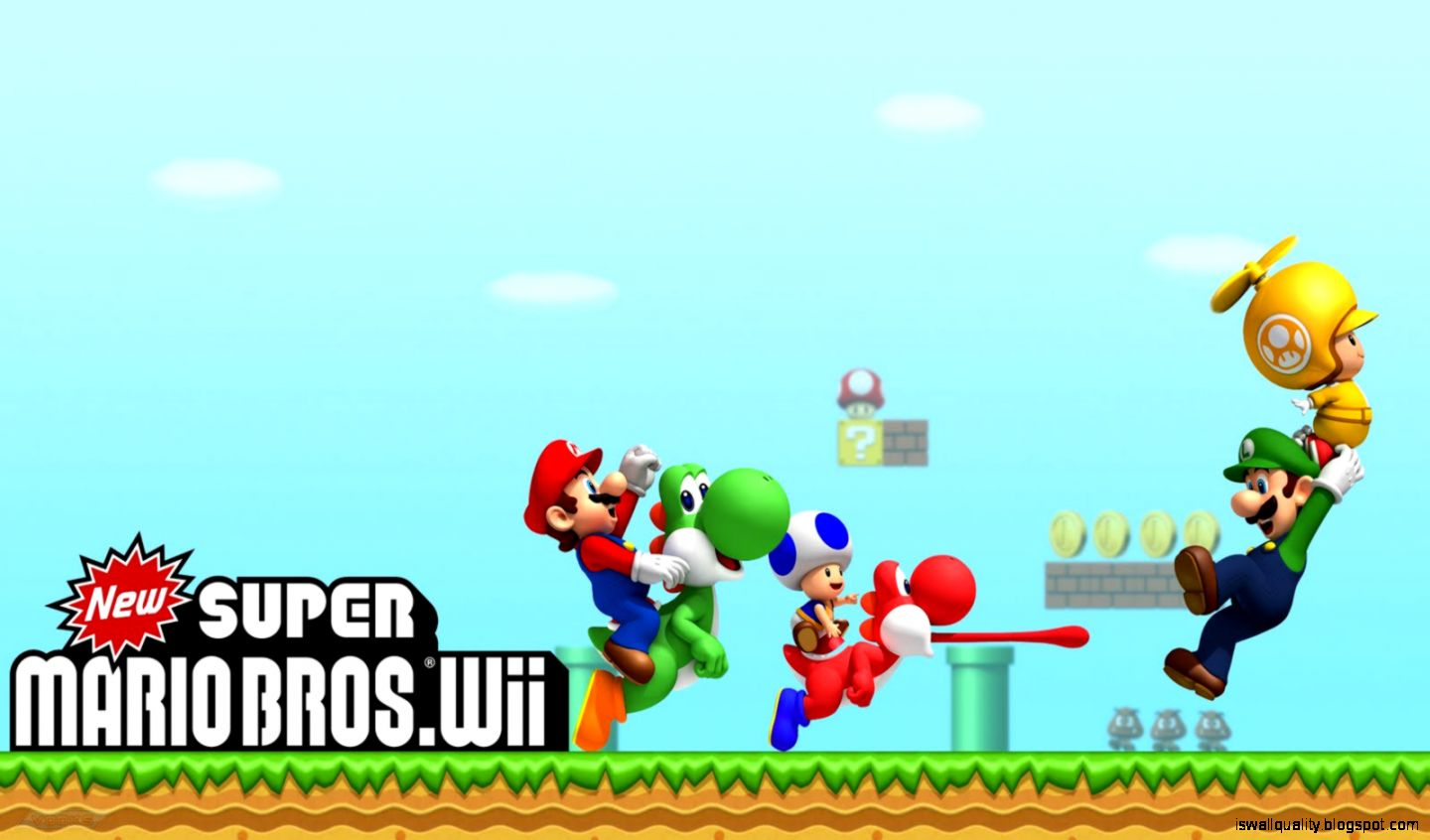 Super Mario Bros Hd Wallpaper Wallpapers Quality